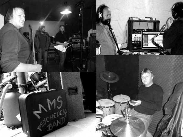 Studio Chlív, 4.listopadu 2013. Nahrávání desky MMS - Rouno pelichá