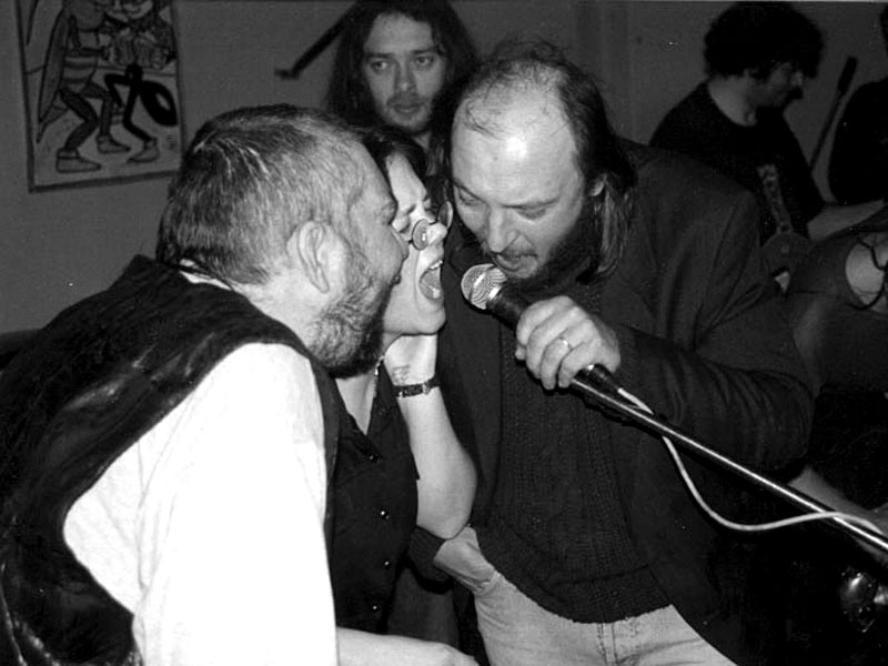 Idiot Crusoe. Pijaticum Musicum, Brno, Medlánky, 31. března 2000