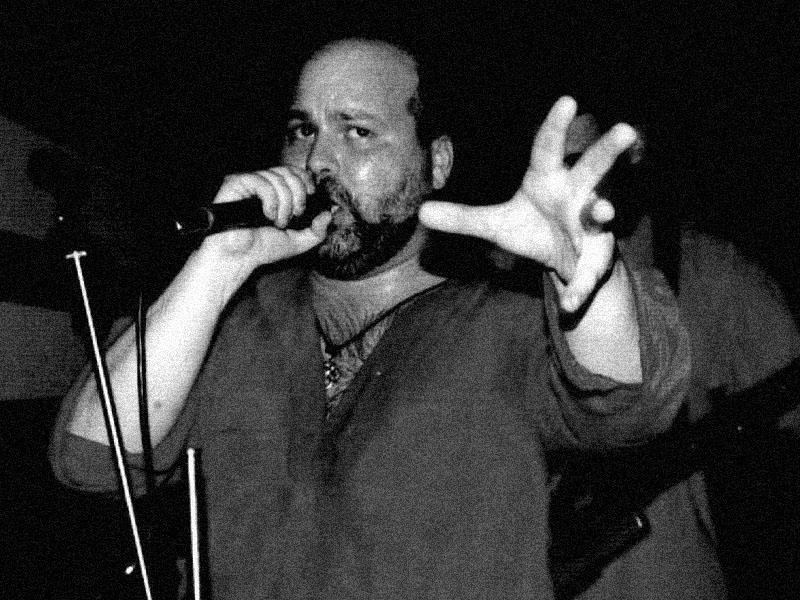 Kapela Sobola. Koncert ve FAC v Brně - Hynkovy narozeniny. 10. května 2003