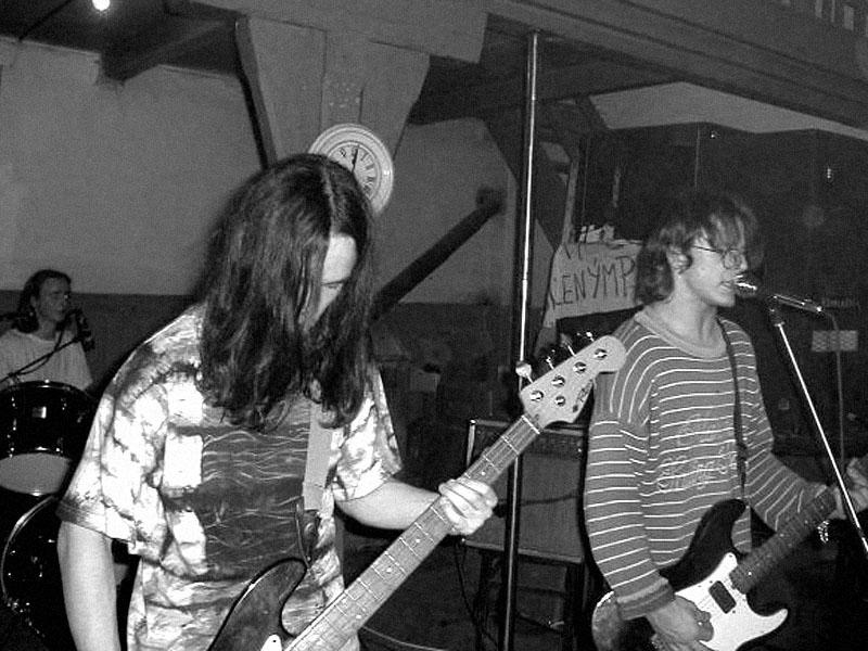 Kapela Memory. Koncert v Baldově (Brno-Přízřenice), 17. února 2001, foto archiv