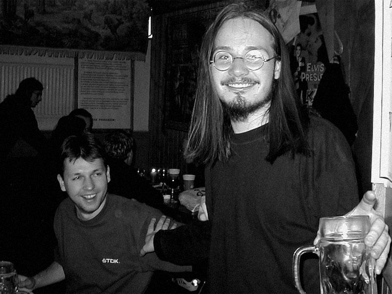 Miňa a Ježíšek. Koncert v Baldově (Brno-Přízřenice), 3. listopadu 2001