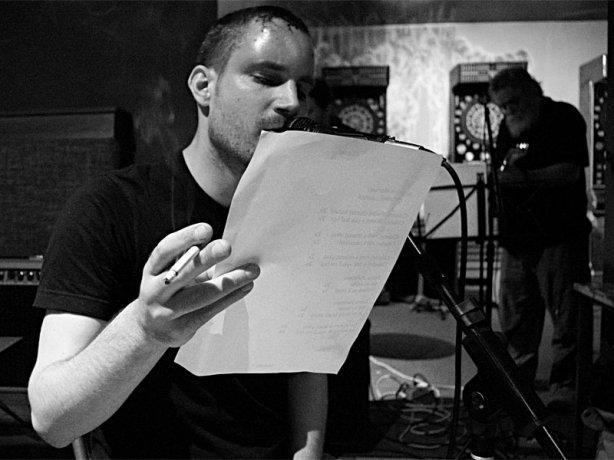 Lukin a Havran, kapela NicMoc Kvintet,  bar Triangolo Zvolen, duben 2013