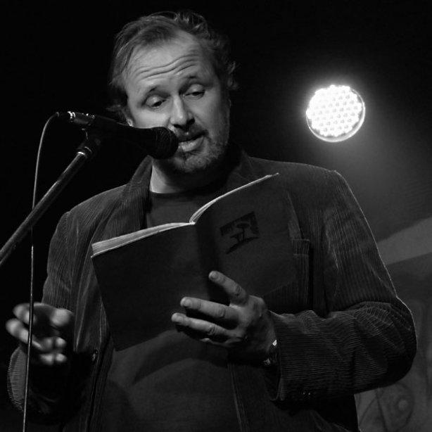P. Formš. Potulný dělník 2014 - festival poesie, Brno, RC Brooklyn 16.-18.11.2014. Foto Jan Drbal