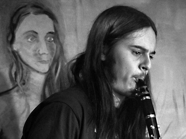 Ťovajz Band. Potulný dělník 2014 - festival poesie, Brno, RC Brooklyn 16.-18.11.2014. Foto Jan Drbal