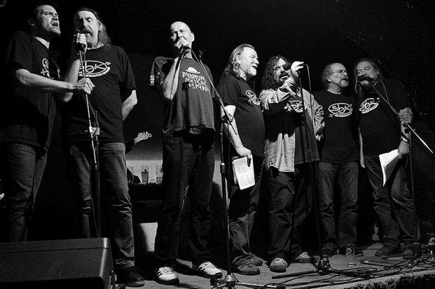 Sbor břežanských kastrátů. Potulný dělník 2015, Brno - RC Brooklyn. Foto Zdenek Vykydal