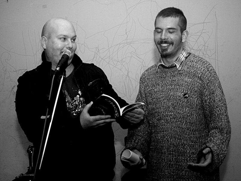 Marek a Ozzy, Homér's Memorial II., Brno - klub Boro,  11. - 12. ledna 2013