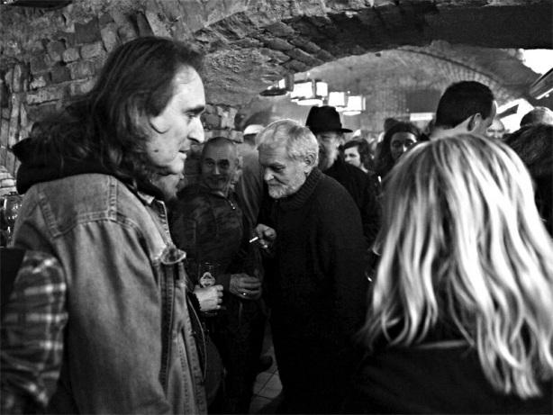 Máničky všech generací. Homér's Memorial, 10.-11. ledna 2014, klub Boro, Brno. Foto © Miro Trimay