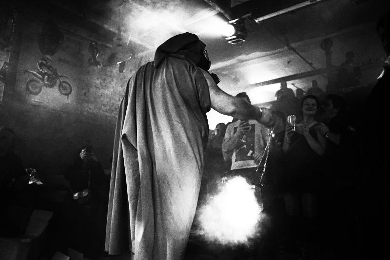 Die Retardovaný Koksoplyn, Vánoční Riot 2019, Brno, Unleaded Coffee