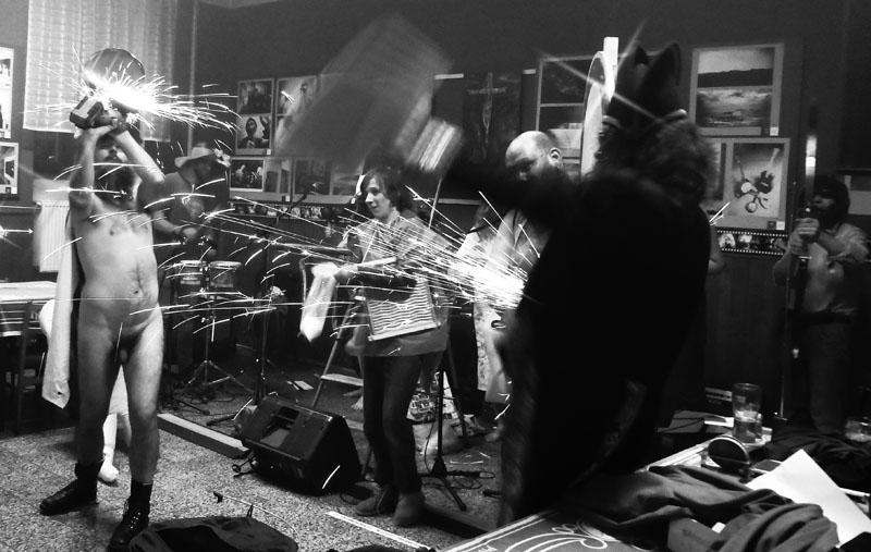 Die Retardovaný Koksoplyn, Maso-X. Foto Eva Macholánová-Motlová