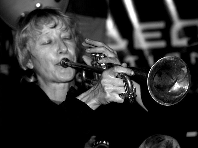 Kapela Čočka, na snímku Blanka. Konec léta - festival Napříč, Skalákův mlýn, Meziříčko, 30.-31. srpna 2013.. Foto Arnošt Zukal