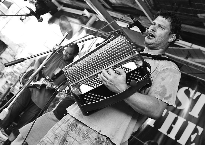 Ivoš z planety Tumpach Kvoč.Festival Napříč - konec léta 2015, Meziříčko u Želetavy. Foto Zdeněk Vykydal