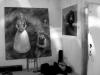 Výstava obrazů na malé scéně. Krákor 2008, Radešín.