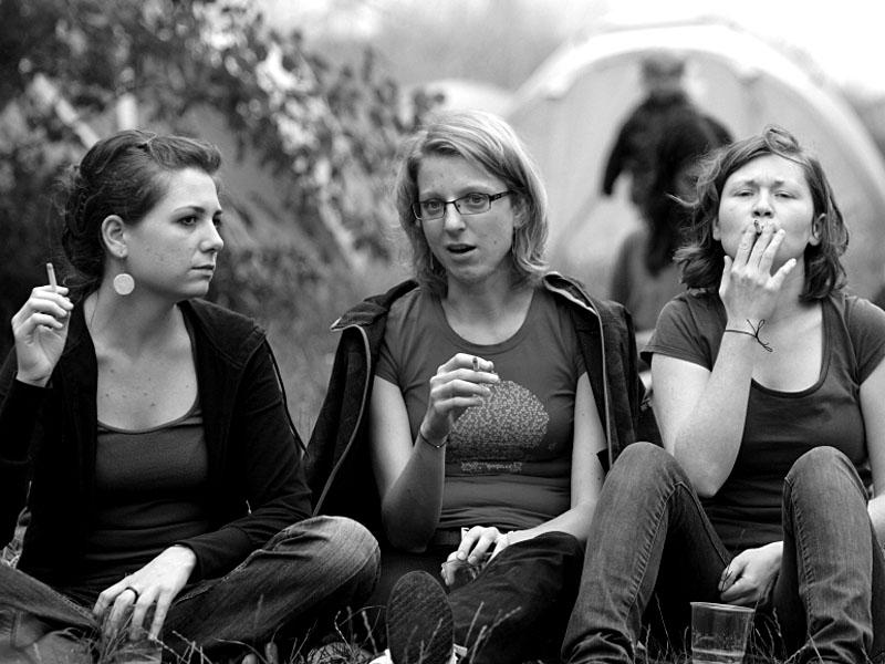 Pauza na oběd, Krákor 2011, Ostopovice u Brna