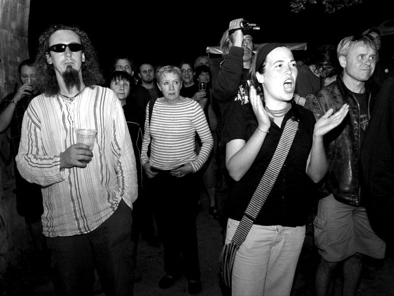 Potlesk v tunelu, Krákor 2011, Ostopovice u Brna