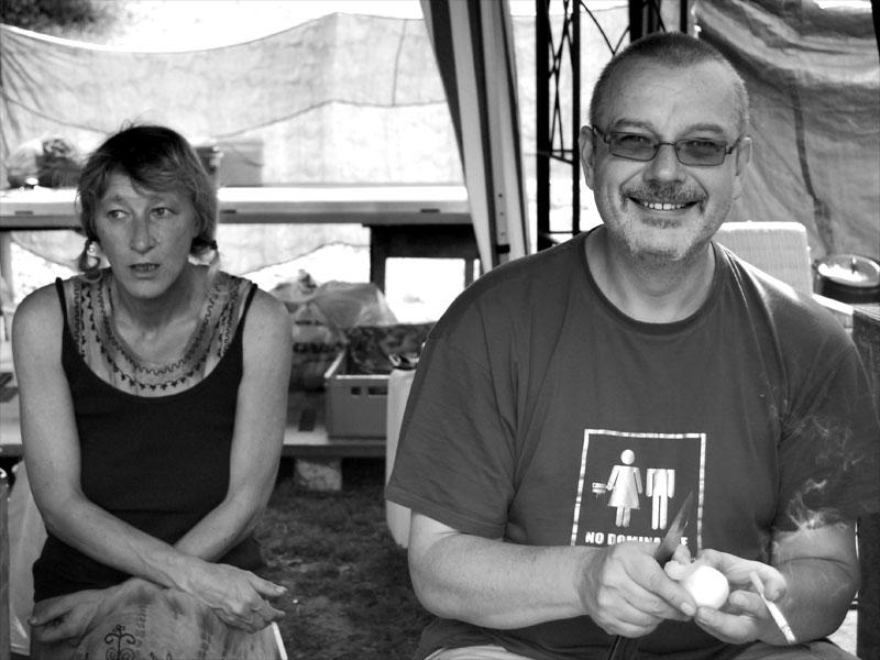 Blanka a Medvěd,  Krákor 2012, Ostopovice u Brna