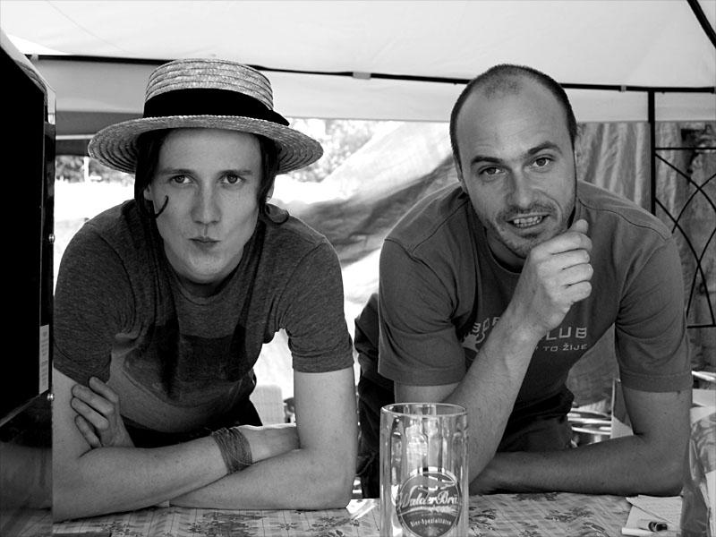 Výčepičníci z Boro baru ,  Krákor 2012, Ostopovice u Brna