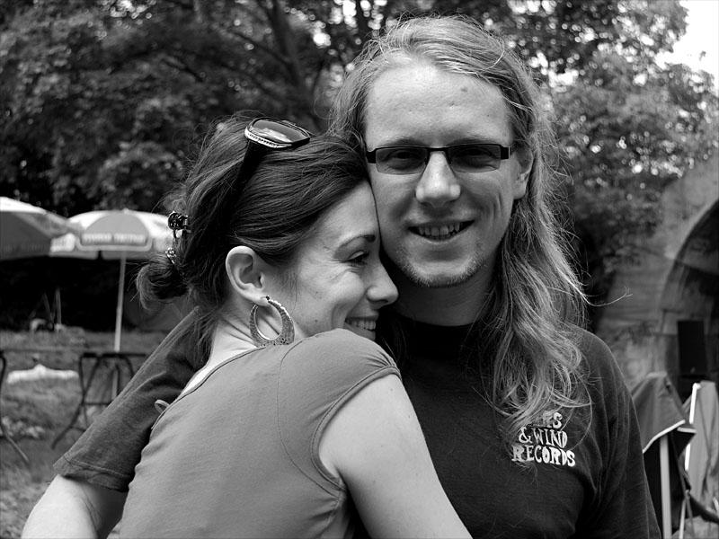 Martina a Ondra, Krákor 2012, Ostopovice u Brna