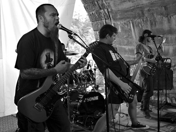 Znamenitá kapela Blaho19, Krákor 2013, foto © Vladimír Sabo