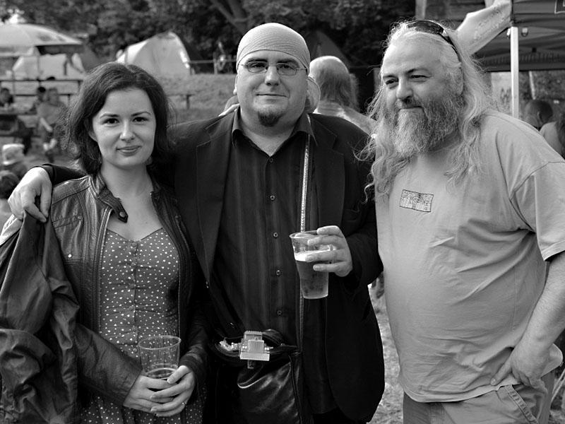 Jana, Pepa a Sten, Krákor 2013, foto © Vladimír Sabo