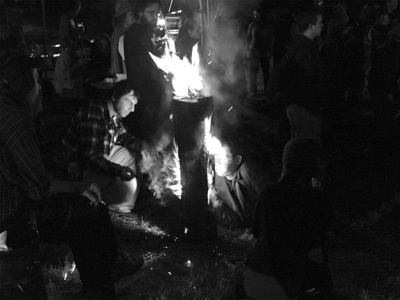 Trocha psychedelických ohňů, Krákor 2013, foto © Vladimír Sabo