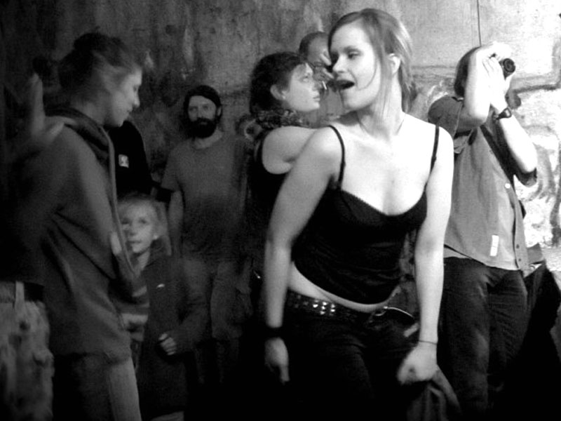 Tančení, focení, točení... Krákor 2013, foto © Andrej Čulák