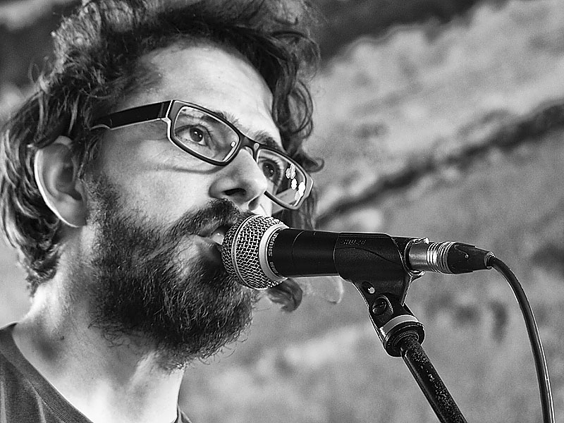 Krákor 2014, Ostopovice u Brna. Honweiss, neboli Jan Weiss - kapela 3+. Foto An Anus.