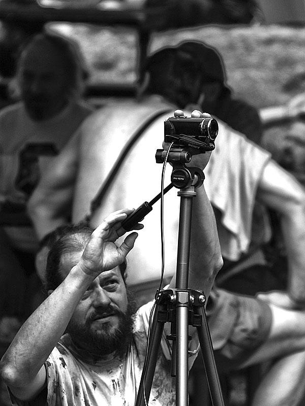 Krákor 2014, Ostopovice u Brna. Kameraman Zdenál. Foto An Anus.