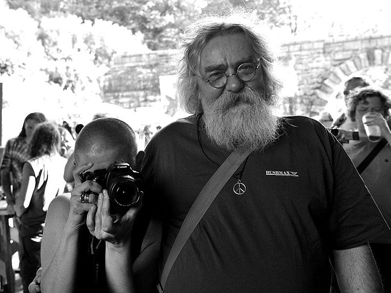 Krákor 2014, Ostopovice u Brna. Ewa a Havran. Foto Vladimír Sabo.