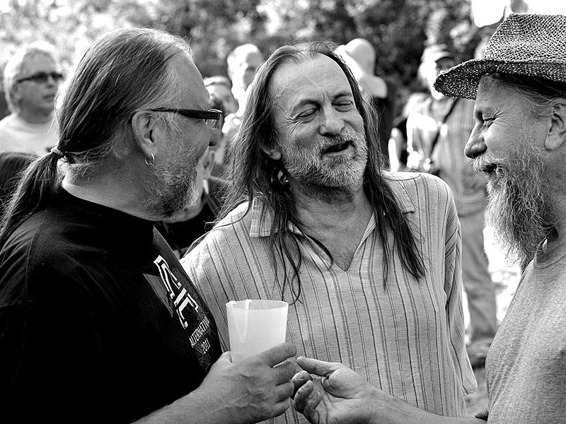 Krákor 2014, Ostopovice u Brna. Lábus, JEF a Ťovajz. Foto Vladimír Sabo.