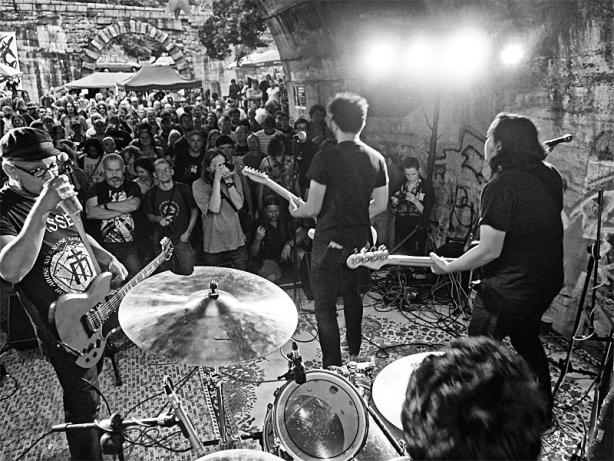 Daily Ritual - pankáči ze Singapuru. Krákor 2015, Ostopovice u Brna, foto An Anus