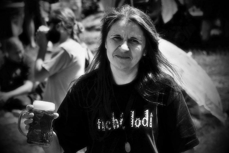 Majka z Gurunu na Hané, Krákor 2016, Ostopovice u Brna. Foto Maryen