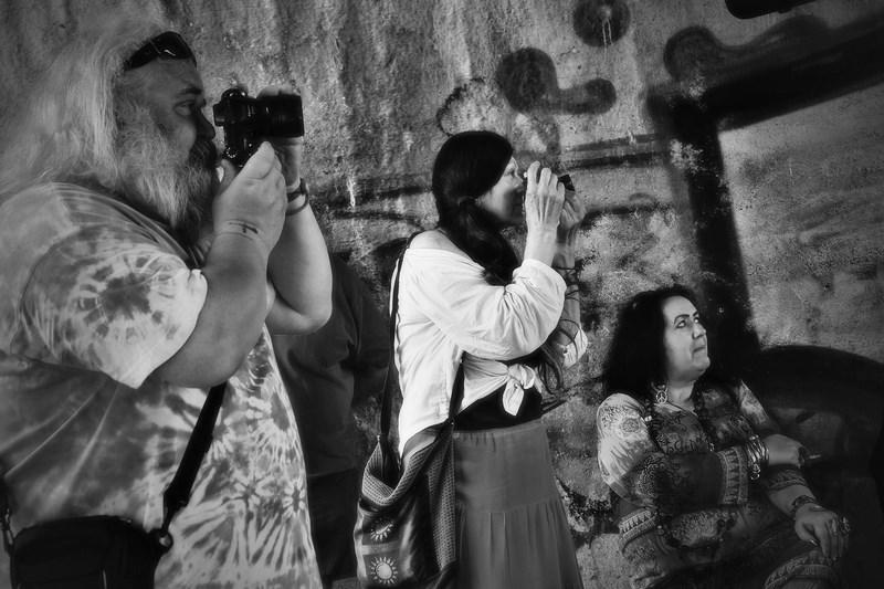 Fotí otec, fotí matka, fotí pankáč, fotí skin... Krákor 2016, Ostopovice u Brna. Foto Maryen