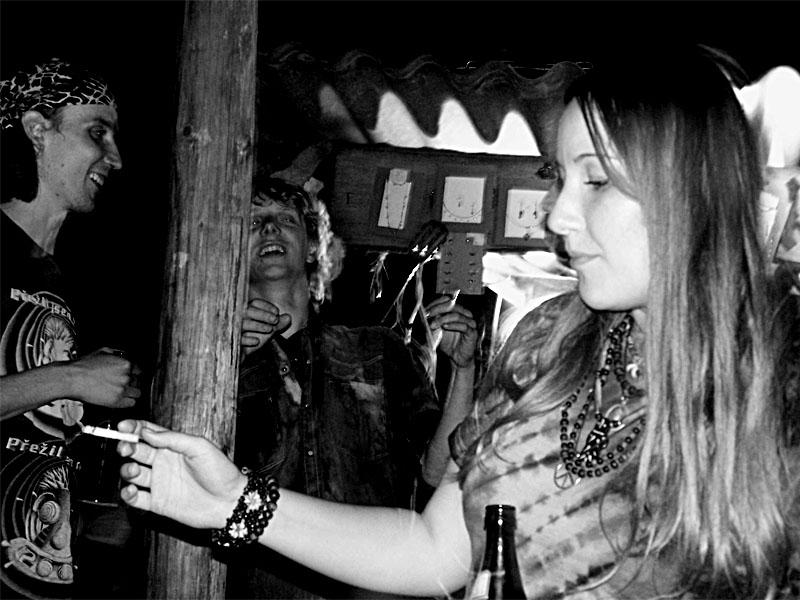 Linda. Festival spodních proudů III.,  Kutiny, 9. a 10. září 2005