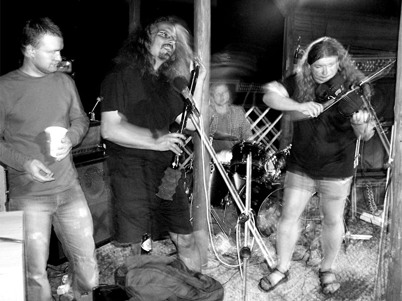 Finální jamování. Festival spodních proudů III.,  Kutiny, 9. a 10. září 2005