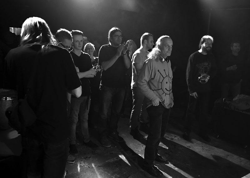Krásní mladí lidé. LES 2015, 28. listopadu, Brno, klub Paradox. Foto Zdenek Vykydal