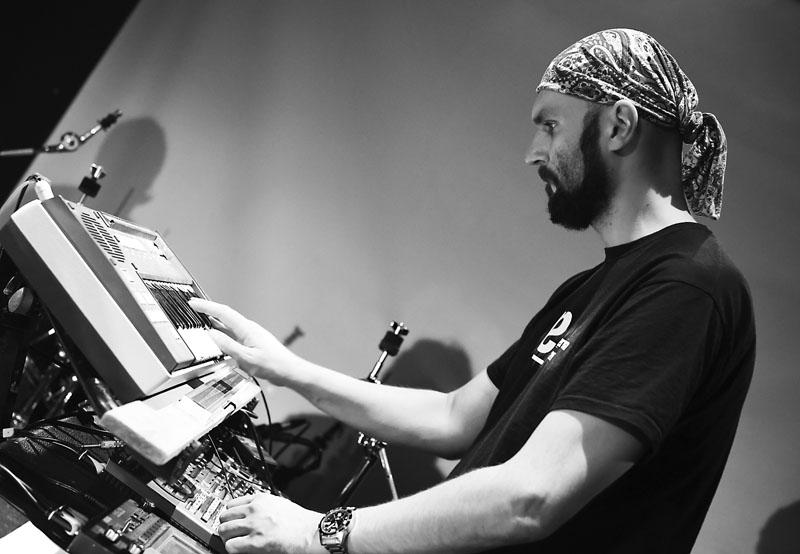 Jan Faix / Skrytý půvab byrokracie. LES 2015, 28. listopadu, Brno, klub Paradox. Foto Zdenek Vykydal