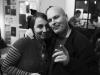 Webi rozptylovala a Marek Sobola nedbal uvádění, LES 2015, 28. listopadu, Brno, klub Paradox. Foto Zdenek Vykydal