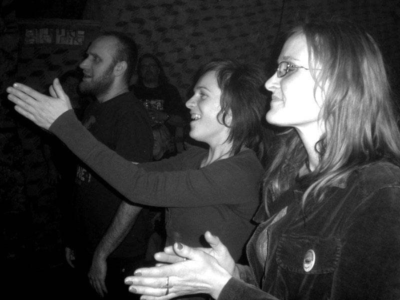 Potlesk. Les - Krákor retrospektiva, 29. a 30. listopadu 2013, Brno - klub Boro, foto archiv STBend