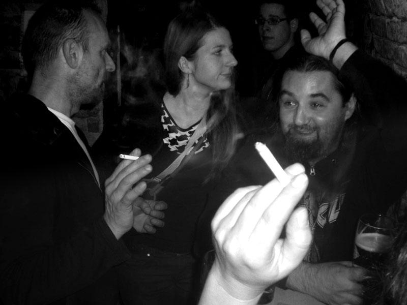 Kuřácký festival Les - Krákor retrospektiva, 29. a 30. listopadu 2013, Brno - klub Boro, foto archiv STBend