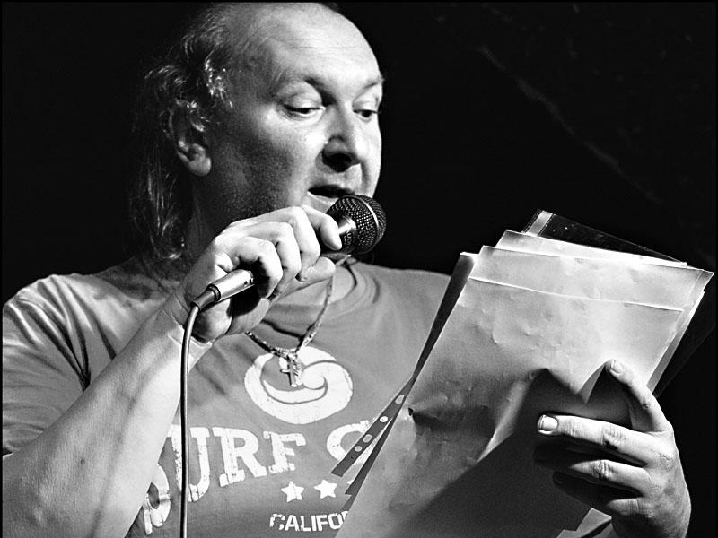 Ivoš Krejzek, LES 2014, narozeniny Ears&Wind Records, 14. listopadu 2014, Brno-Brooklyn, foto Zdenek Vykydal