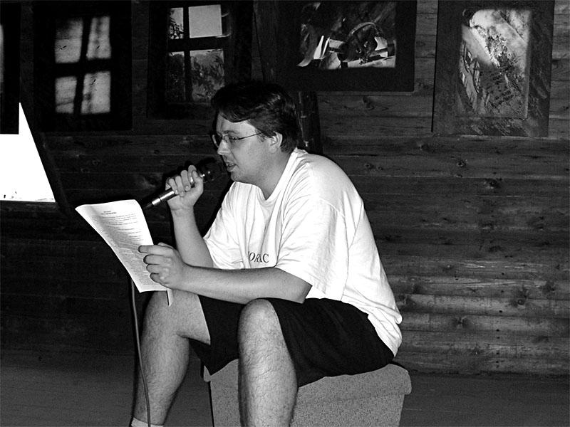 Čtení na půdě. Festival spodních proudů - Mlýn, Jindřichův Hradec, 29. -30. 8. 2003