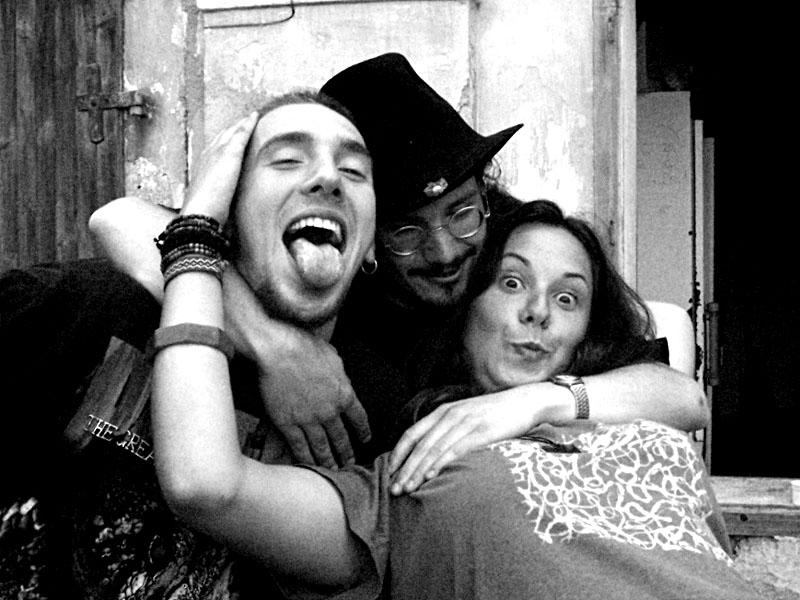 Zelo Sedmionana, Ježíšek a Palice. Festival spodních proudů II. - Mlýn, Jindřichův Hradec, 27.-28.8.2004