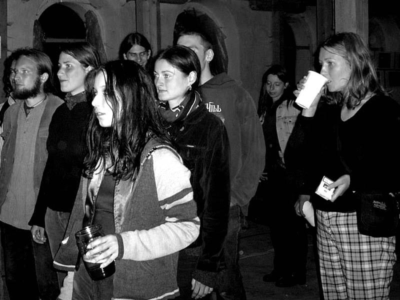 Festival spodních proudů II. - Mlýn, Jindřichův Hradec, 27.-28.8.2004