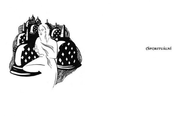 Kniha Jakuba Urbance - ukázka sazby (ilustrace)