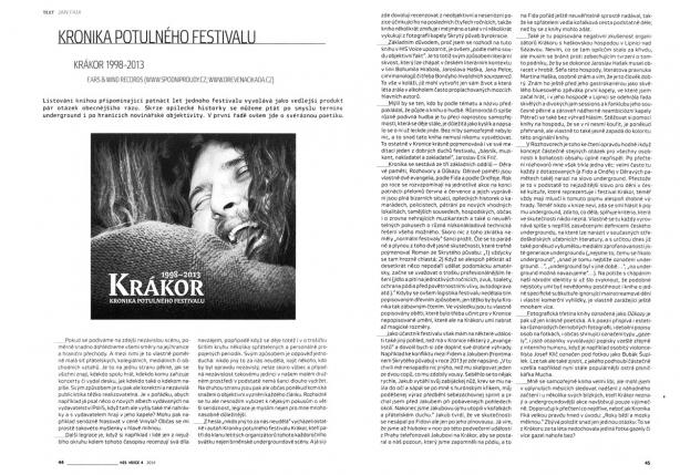 Recenze Krákor Kronika od Jana Faixe