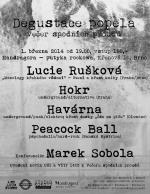 Degustace popela, 1. března 2014, Brno - Mandragora