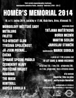 Homérs Memorial 2014, třetí ročník 10. a 11. ledna