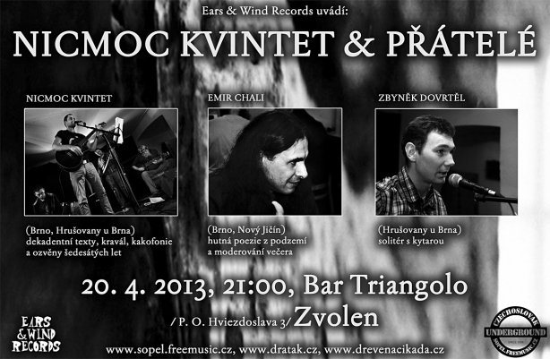 NicMoc Kvintet, Zvolen, 24.3.2013