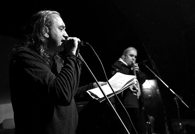 Ivan Motýl a Chuděj, Potulný dělník 2015, Brno - RC Brooklyn. Foto Zdenek Vykydal