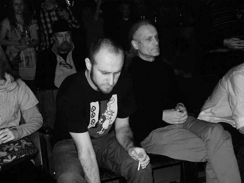Pohled do publika. Pepa, Geňa, Luboš... Potulný dělník 2013, Brno - Boro. Foto © Vladimír Havran Smýkal